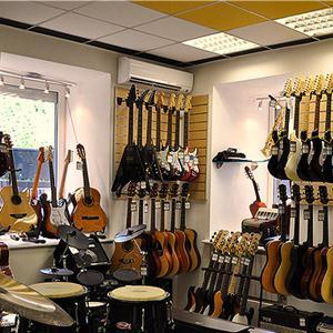 Музыкальные магазины Палеха
